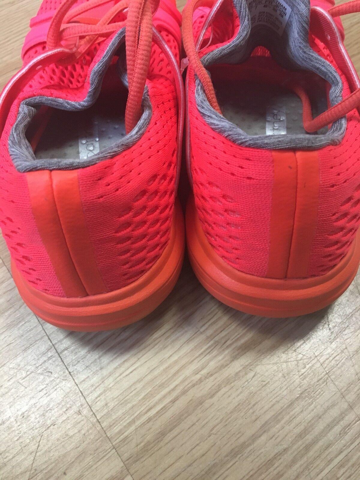 Adidas Stella B25115 McCartney Climacool Sonic Sz:8.5 Running B25115 Stella Solar Rosso Coral 73c42a