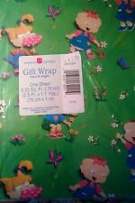 Vintage Rugrats Nickelodeon American Greetings Gift Wrap Paper SEALED