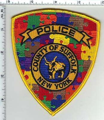 Autism Awarness New York City Police Uniform Patch Version 1 may wear in April