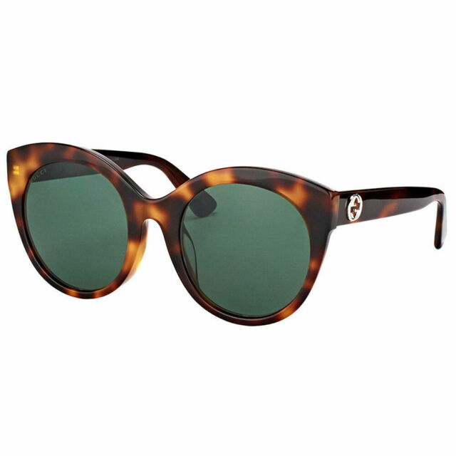 4b4c82db2 Gucci Cateye Sunglasses Gg0028s 002 Havana 0028 for sale online   eBay