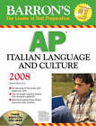AP Italian Language and Culture by Samuel Ghelli (Paperback, 2008)