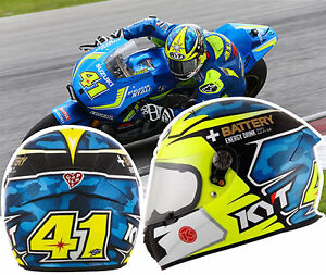 Details about Helmet suomy Kyt Kr1 Espargaro motorrad gp casque integral  helm capacete XS