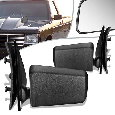 New Set of 2 Manual Operate Door Mirror for Chevrolet S10 GMC Sonoma 1994-2004