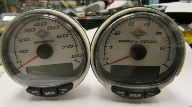 Good Used Mercury Smartcraft Speedometer And Tachometer