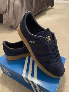BNIB-Adidas-Munchen-navy-blue-UK-9-Spzl-Spezial-Deadstock-RARE