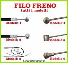 Cavo freno bicicletta City Bike / Mountain Bike /Olanda / Graziella / Corsa /BMX