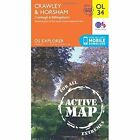 Crawley & Horsham, Cranleigh & Billingshurst by Ordnance Survey (Sheet map, folded, 2015)