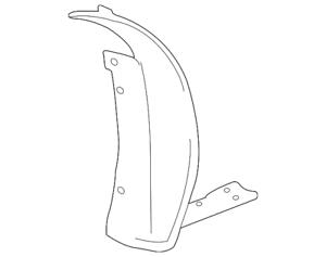 Genuine GM Liner Asm-Frt W//H Rr 20882669