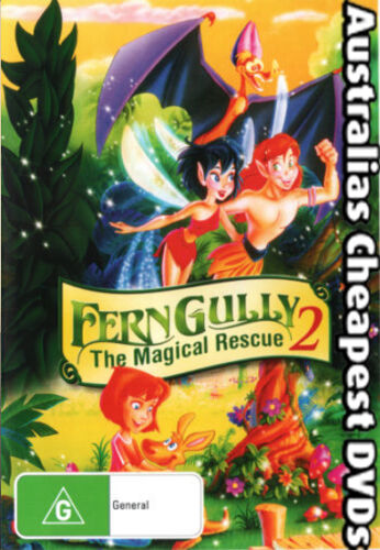 1 of 1 - Fern Gully 2 - The Magical Rescue DVD NEW, FREE POSTAGE WITHIN AUSTRALIA REG 4