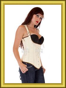 Unter Brust korsett corsage aus PVC Lack  34~56