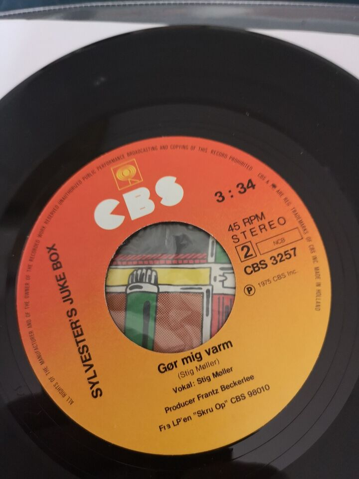 Single, Kim Larsen, Sylvester's Jukebox ?– Marken Er Høst