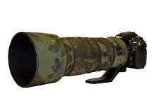 Nikon 200 500mm f5.6 ED VR Neoprene Lente Protezione Cover WOODAND Verde Mimetico