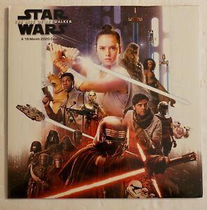 Disney-Star-Wars-The-Rise-Of-Sky-Walker-A-16-Month-2020-Calendar-New