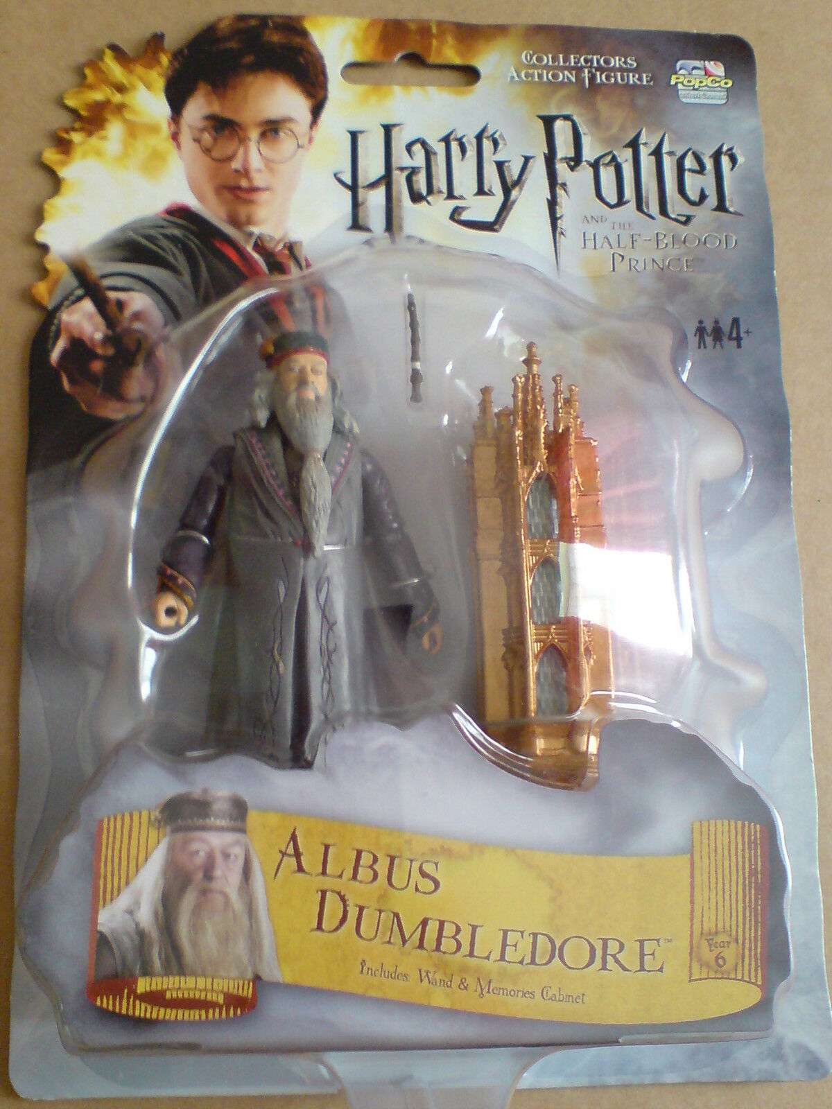 HARRY POTTER AND THE HALF BLOOD PRINCE - ALBUS DUMBLEDORE NEW RARE LAST ONE