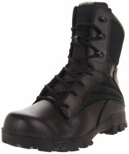 Bates-2068-Mens-8-034-Leather-Nylon-Side-Zip-Uniform-Boot-FAST-FREE-USA-SHIPPING