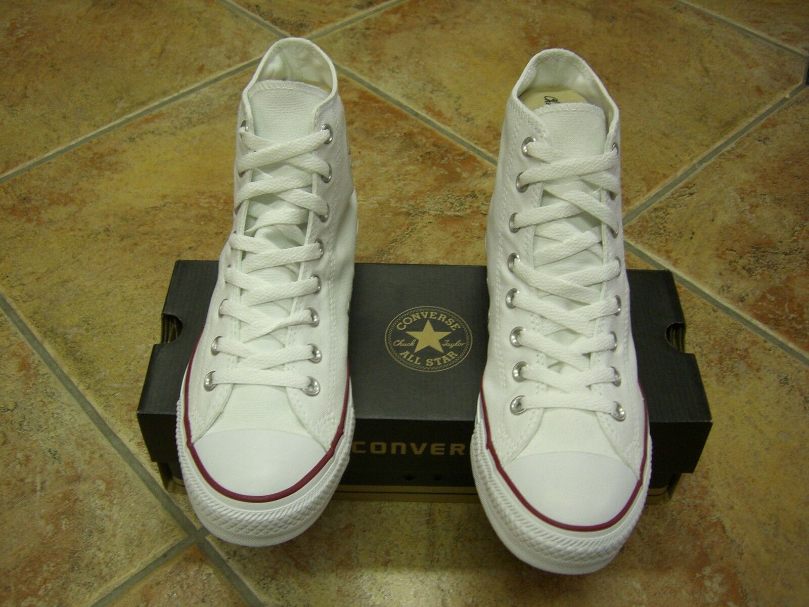 Converse Chucks All Star HI Gr.38 Optical White M7650 NEU Top aktuell
