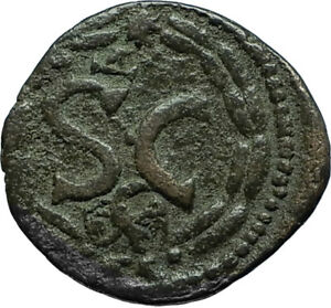ELAGABALUS-218AD-Antioch-in-Seleukis-Pieria-Ancient-Roman-Coin-w-EAGLE-i66349