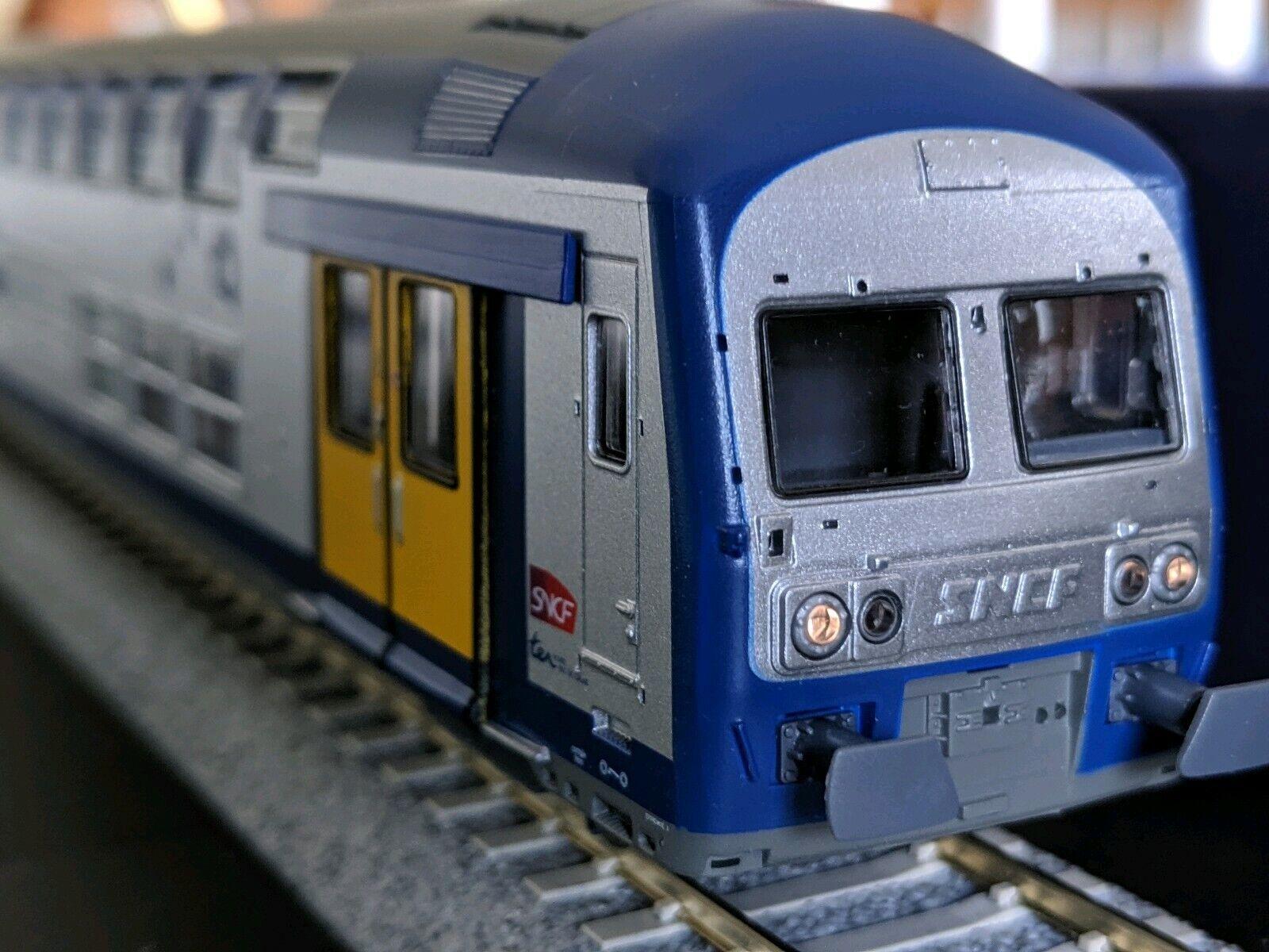 Vitrains Ho Nord Pas De Calais Z2N Blue Bleu VO2N Ho DCC headlight control SNCF