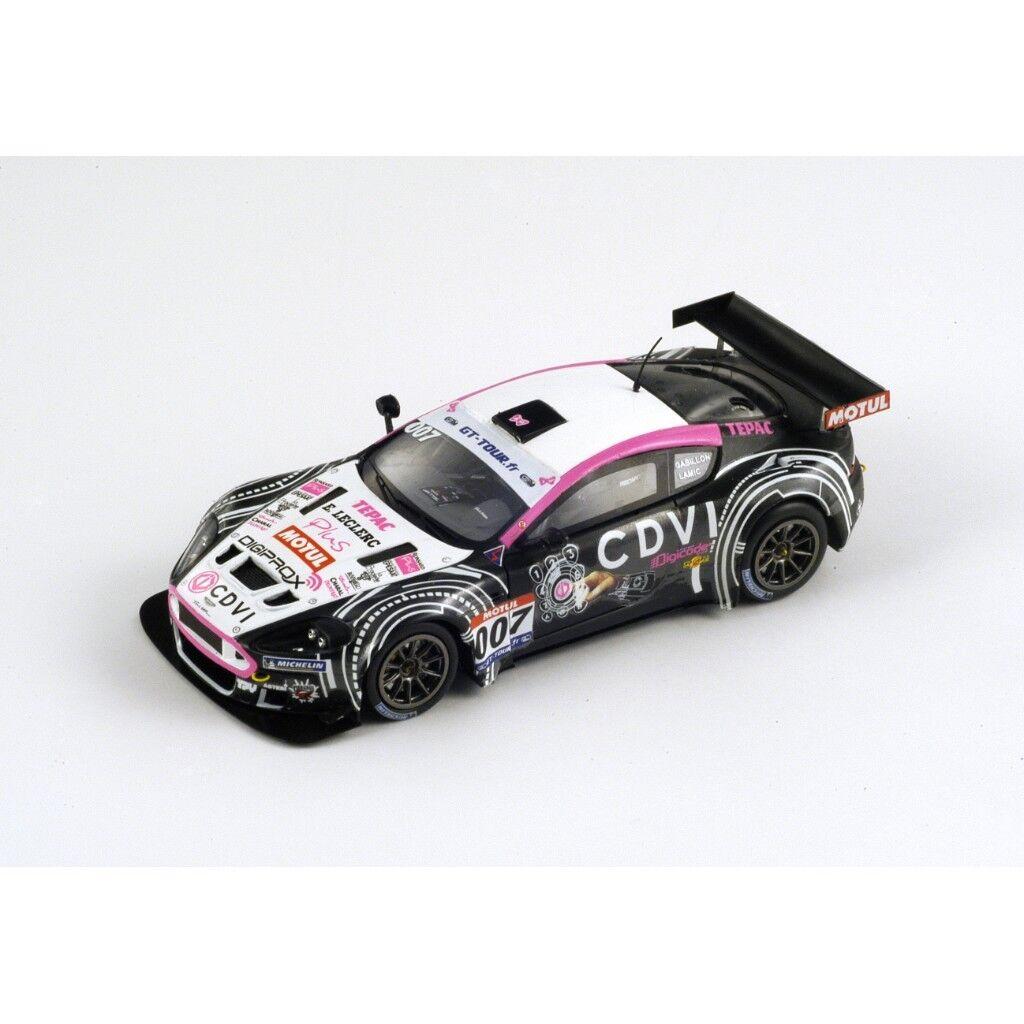 SPARK Aston Martin DBR9 Team LMP  007 GT Tour 2011 Lamic - Gabillon SF026 1 43