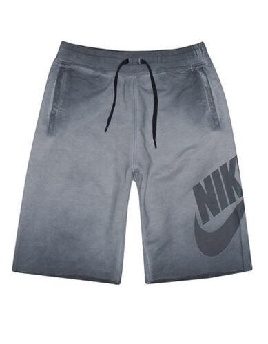 Nike Kids/' Boys/' ALUMNI WASHED OLDER SHORTS Dark Grey 820671-021 a