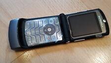 Pieghevole Per Cellulare Motorola RAZR v3 GRIGIO + simlockfrei + CON PELLICOLA + tabulazione