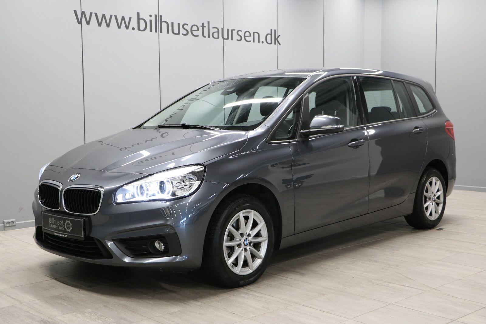BMW 218d 2,0 Gran Tourer Advant. aut. 7prs 5d - 319.900 kr.