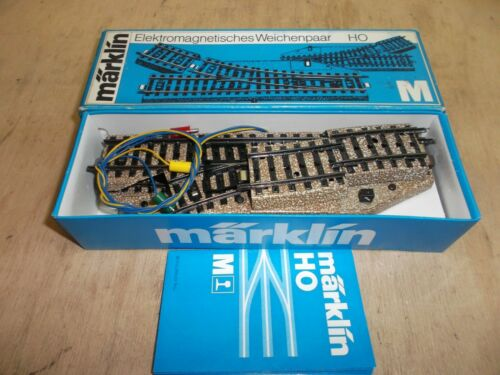 Märklin h0 5139 M-Binario ELT morbido coppia R//L la prima classe con PASSTÜCK 5102 IN SCATOLA ORIGINALE