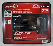 Seagate Free Agent GoFlex 2TB Home Network Storage External Hard Drive Backup