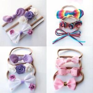 3Pcs-set-Colorful-Baby-Girls-Infant-Flower-Bow-Headband-Soft-Elastic-Hair-Band