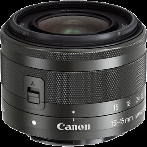 Brand-New-Canon-Zoom-EF-M-15-45mm-F3-5-6-3-IS-STM-Black-Lens-White-Box-ES-3