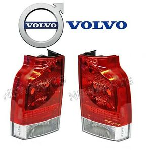 For-Volvo-V70-XC70-05-007-Pair-Set-of-Left-amp-Right-Lower-Taillight-Lens-Genuine