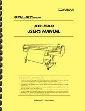 New Listingroland Soljet Pro Iii Xc540 Printer Cutter Owners Manual
