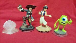 4-DISNEY-INFINITY-Aladdin-Monsters-Inc-Barbo-1-0-2-0-3-0-Figure-Lot-Wii-PS3-360