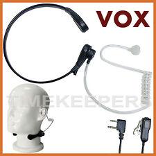 Throat Mic Earpiece PTT/VOX Headset Alan Midland G5 G6 G7 G7E G8 G9 G10 G12 M99