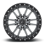 "thumbnail 1 - 20x9 Fuel D680 Rebel Gray Wheels Rims 33"" AT Tires Package 5x150 Toyota Tundra"