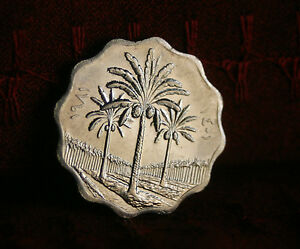 coin with palm tree