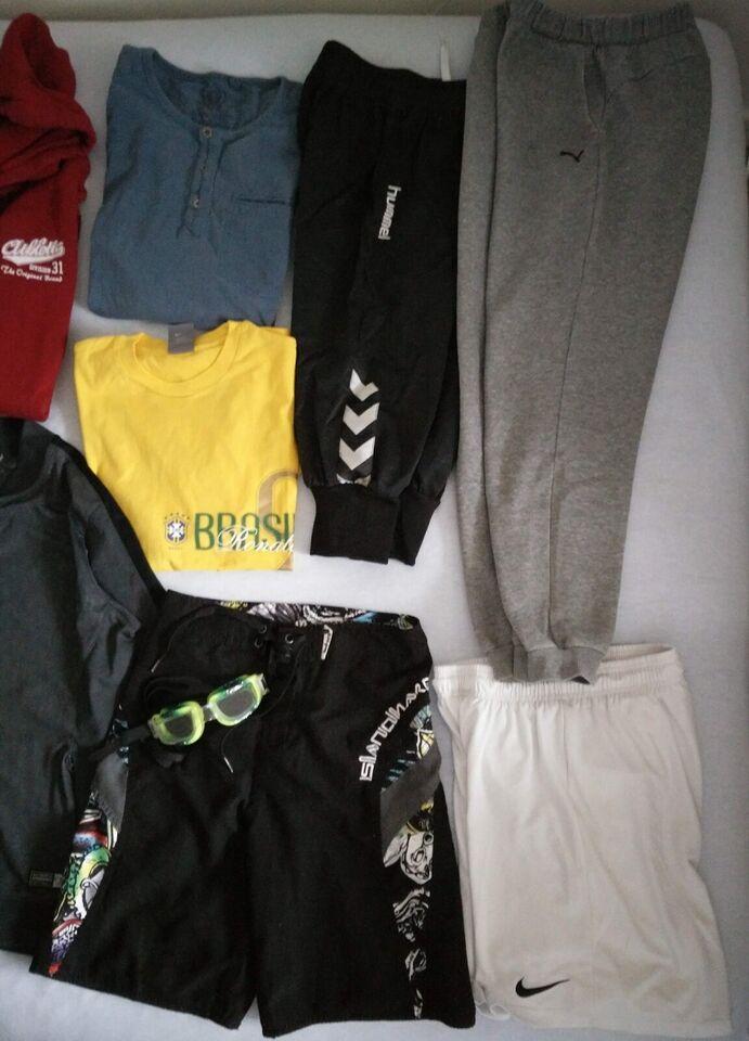 Blandet tøj, tøjpakke ca. 12-13 år (152-158), nyt og brugt