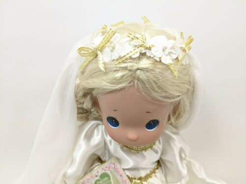 The Doll Maker Precious Moments Linda Rick 2018 Always and Forever Bride 13 in.