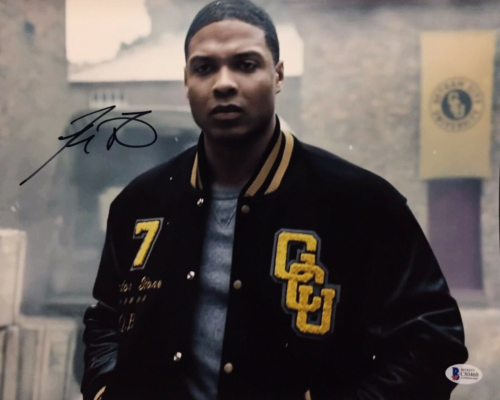 Ray Fisher Signed Justice League 11x14 Photo *Cyborg Beckett BAS C80460