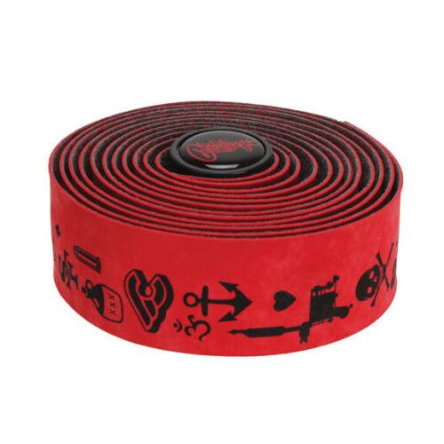 Mike Giant red Cinelli Velvet handlebar tape