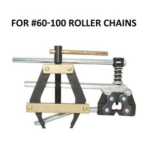 Roller Chain Connecting Puller Holder Tool #60 #100