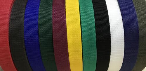 elección de colores y tamaños Cinta Correa De Polipropileno