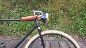 Echt-Holz-Fahrrad-Lenker-Griffe-Real-Wood-Bicycle-Handlebar-Grips