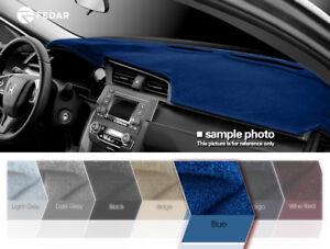 Gray Carpet Dash Mat Compatible with 1998-2002 Honda Accord Dash Cover USA MADE