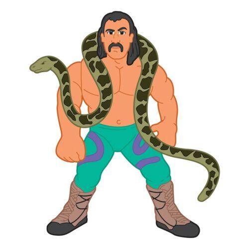 """Série WWF Hasbro 1 Figure Art Jake /""""the snake/"""" roberts 11/"""" Plastique Découpe"""