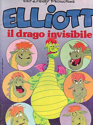 ELLIOTT IL DRAGO INVISIBILE//PETE/'S DRAGON BUSTINA FIGURINE 1 EDIZIONI PANINI /'78