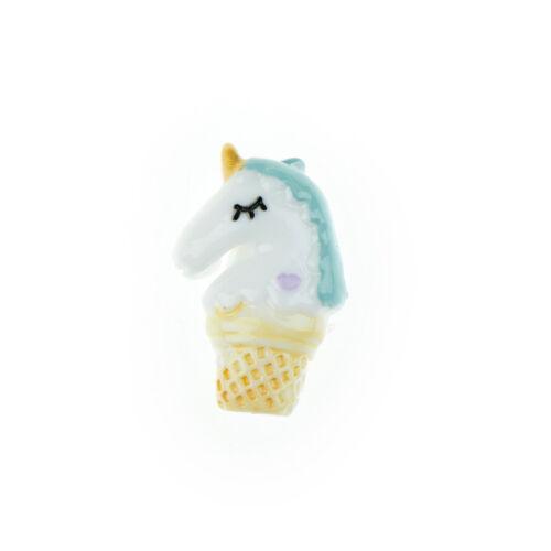 5pcs Cake cup unicorn flatback resin cabochon for DIY craft scrapbook decor/&/&