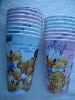 Baby Babies Mickey Minnie Party Supplies Birthday Shower Cups Decoration Favors