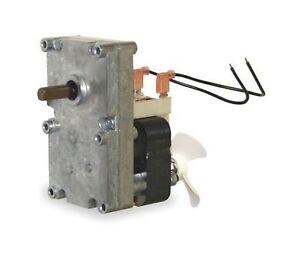 4mm shaft 24VAC Crouzet 24 volts AC #82342 Gear Motor 90 rpm