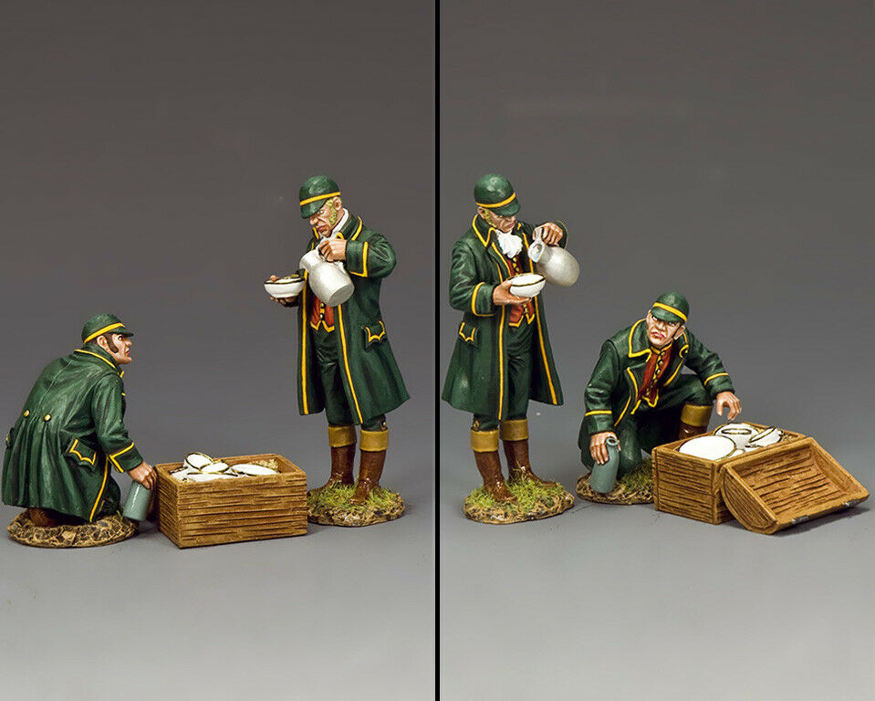 KING AND COUNTRY NAPOLEONIC NAPOLEONIC Preparing the Table NA451